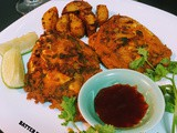 Batter fried pomfret
