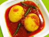 Burmese golden egg curry