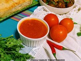 Chilli garlic tomato sauce