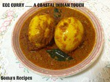 Egg curry....... a coastal indian touch