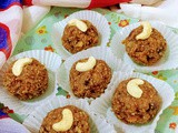 Instant dates figs n mixed nut ladoo