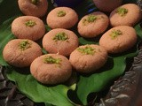 Instant rose flavoured sandesh