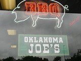 Oklahoma Joe's bbq in Kansas City, ks