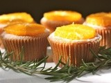 Rosemary orange olive oil muffins