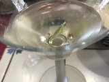 Martini cocktail, The Grill House recipe