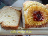Plum cake all'ananas