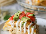 Chicken Tortilla Stack and a Giveaway