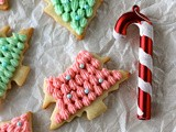 Christmas Tree Cookies #SundaySupper