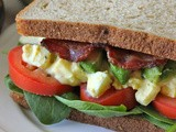 Egg Salad blta Sandwich