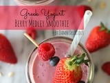 Greek Yogurt Berry Medley Smoothie