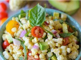 Grilled Corn Salad and RecipeGirl Cookbook Giveaway