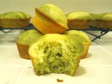 Meyer Lemon and Matcha Marble Pound Cake
