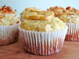 Muffin Monday: Banana Orange Coconut Muffins