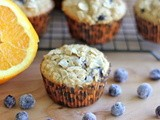 Muffin Monday: Blueberry Orange Oatmeal Muffins