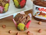 Muffin Monday: Coffee Hazelnut Muffins with Nutella Glaze
