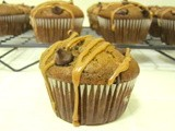 Muffin Monday: Mocha Muffins with Chocolate Chips and Mocha Glaze