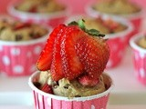 Muffin Monday: Strawberry Espresso Chocolate Chip Muffins