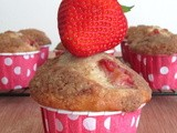 Muffin Monday: Strawberry Yogurt Muffins with Cinnamon Streusel
