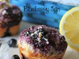 #MuffinMonday: Blueberry Muffins with Blueberry Jam