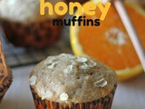 #MuffinMonday: Orange Cinnamon Honey Muffins