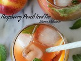 Raspberry Peach Iced Tea and a Giveaway
