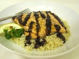 Salmon with Balsamic Glaze