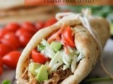 Slow Cooker Pulled Pork Gyros and a Giveaway
