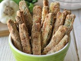 Zucchini Sticks with Garlic Chipotle Aioli