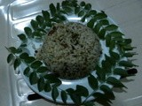 Curry leaf Rice ( Karibevu Chitranna )
