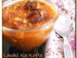 Lauki Ke Kofte | Squash Dumplings Curry