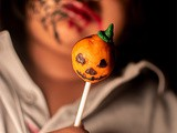 Pasta presents Halloween Cake Pops