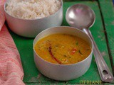 Pyaz Diye Masoor Dal (Bengali Red Lentil Soup with Onion)