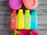 Tupperware Illumina Bowls and Sip and Shine Celebration Bottles Review