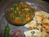 Amritsari Chole with Paneer Kulche