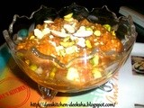 Blog Anniversary and Shahi Moong Dal Halwa