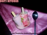 Strawberry Pista Kulfi