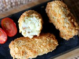 Cauliflower, fennel, chilli and cheese croquettes