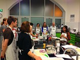 Deena Kakaya vegetarian cooking class with Natco Foods