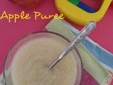 Apple Puree for Babies | Baby Food Recipes