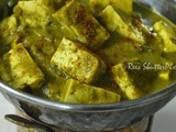 Palak Paneer Gravy Recipe | Veg Side Dish Recipes