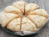 Chive and Chedder Buttermilk Scones