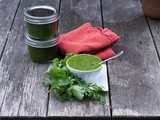 Cilantro and Parsley Sauce:  Father's Day