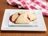 Raspberry Crescent Mini Pies