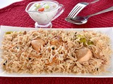Chicken White Pulao