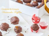 12 Treats of Christmas: Cookies and Cream Cheesecake Truffles