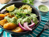 Adobo-Spiced Buddha Bowl with Cilantro-Jalapeno Dressing