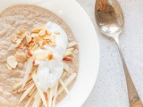 Apple & Cinnamon Buckwheat Bircher Muesli