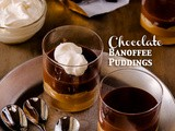 Chocolate Banoffee Puddings