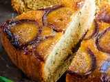 Honey and Rosemary Upside Down Fig Cake