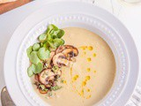 Jerusalem Artichoke Soup with Mushrooms & Watercress & a makeover